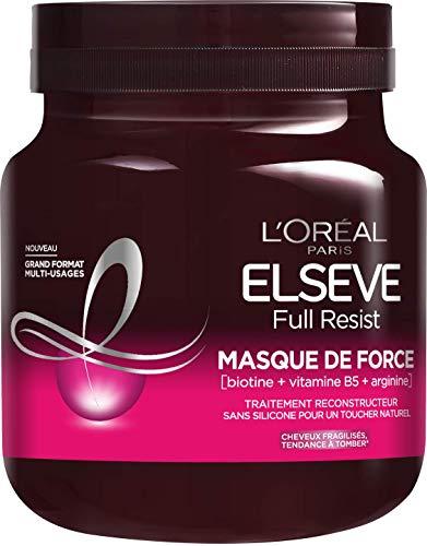 L'Oréal Paris Elseve Full Resist Masque deForce Multi-Usages Enrichi en Compléments Capillaires, 680ml
