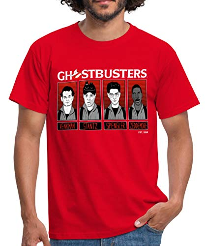 * NEW * Ghostbusters 1984 Movie Characters T-shirt for Men, 6 Colours, S to 4XL