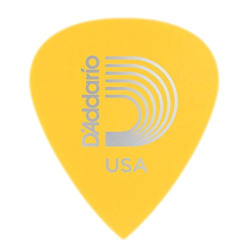 D'Addario. Púas para guitarra de precisión de Duralin, fino/medio, pack de 10
