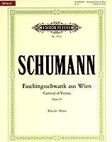 シューマン: ウィーンの謝肉祭の道化 Op.26/原典版/ペータース社/ピアノ・ソロ
