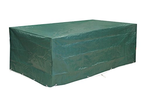 Kronenburg Bâche de protection haut de gamme 120 g Pour salon de jardin 240 x 136 x 88 cm