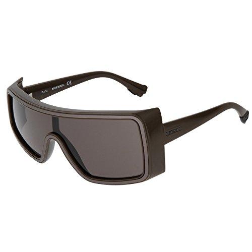Diesel Sonnenbrille Gafas de sol, Marrón (Braun), 55 Unisex Adulto
