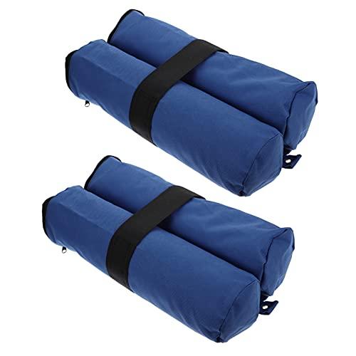Holibanna 2Pcs Baldachin Gewichte Zelt Sand Taschen Schwere Gewichte Sandsäcke Tragbare Fotografie Gewicht Taschen Outdoor Möbel Gewicht Tasche
