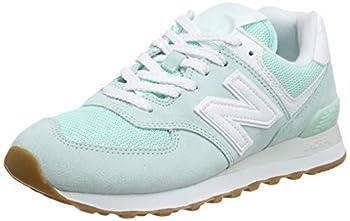 New Balance Women s 574 V2 Pastel Sneaker White Mint/Whit 9