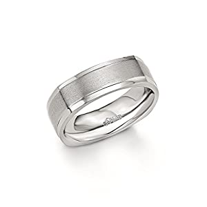 s.Oliver Herren-Ring stärkste Stelle ca. 7 mm Edelstahl 441