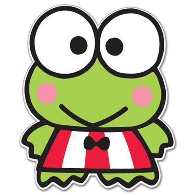 Hello Kitty Keroppi Vynil Car Sticker Decal - Select Size