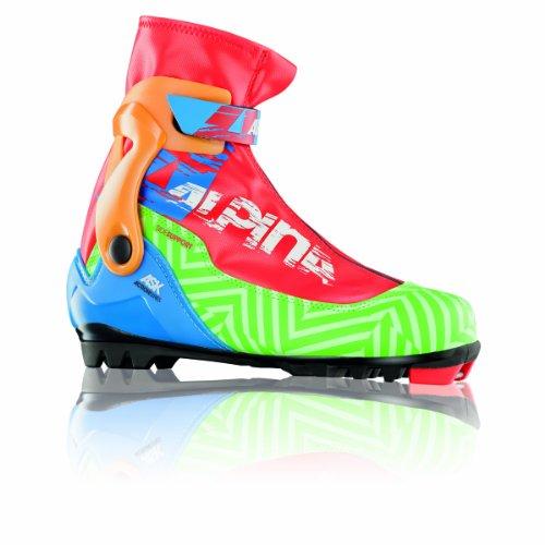 alpina Ask Nordic Skate Skate Skischuhe Action Serie, 250021, Green Multi, 41