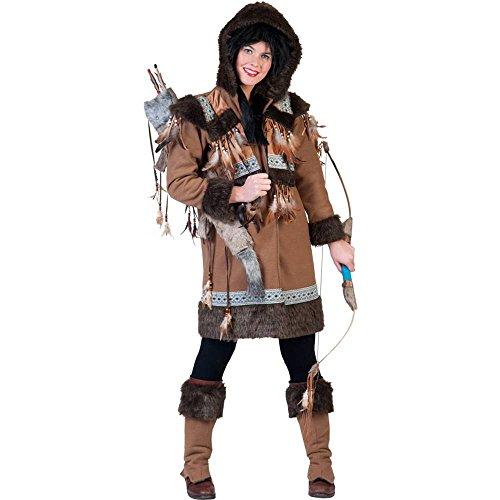Generique - Eskimo-Kostüm für Damen