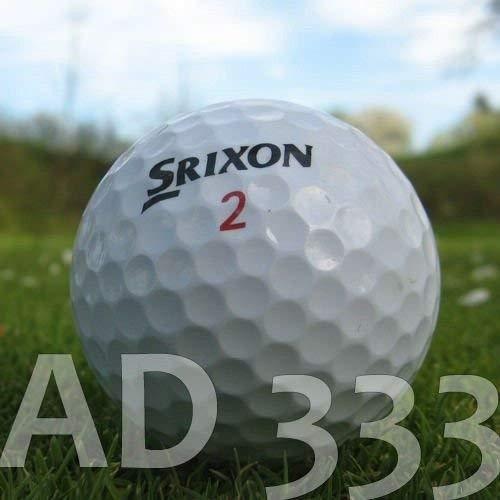 Lot de 50 balles de golf AD333 de Srixon - Qualité AAA/AA