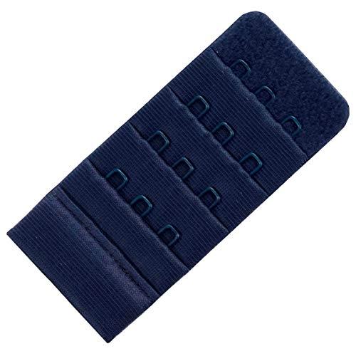 Miss Perfect Wow 2 Go BH Verlängerung 3 Haken 4,5 cm Breite in Blau