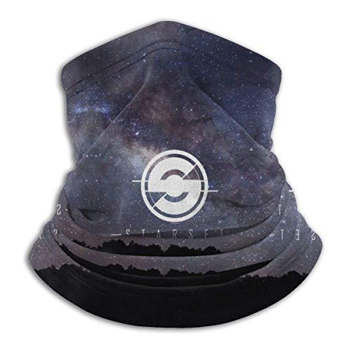 NA Starset Calentador de cuello de invierno unisex de forro polar térmico para el cuello, resistente al viento, máscara facial para clima frío
