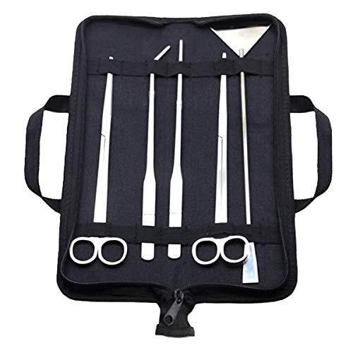 Aquarium Tool Kit, Stainless Steel Aquatic Plant Tweezers, Scissors &...