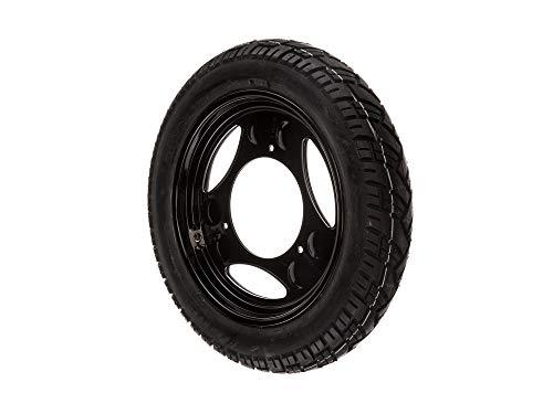 'MZA complet Roue Droite 2,1 x 12 disques de Noir + pneu veerubber VRM 094 – sIMSON SD25/50