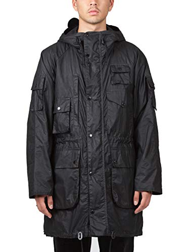 Barbour x Engineered Garments Men's Zip Parka Black M