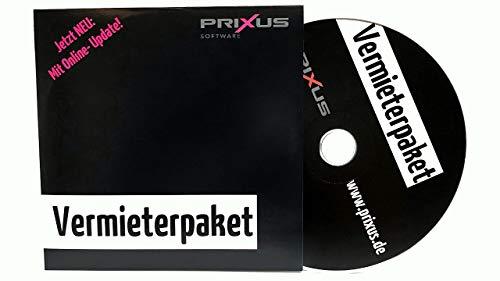 NEU 2021: PRIXUS: Premium Vermieterpaket - Alle Dokumente die Sie als Vermieter benötigen auf einer CD. Inkl. kostenlose Updates!
