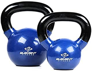 Unified Fitness Group Element Fitness Vinyl Kettle Bells - 45 lbs