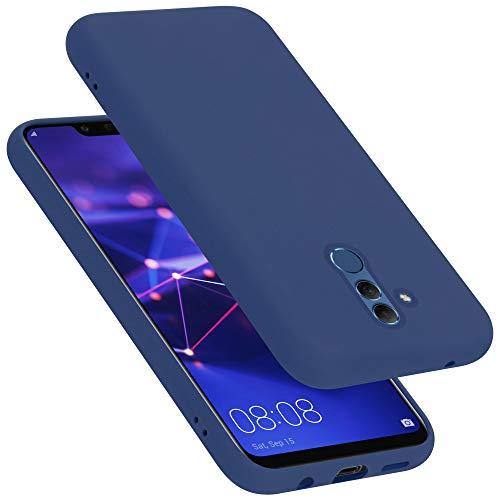 Cadorabo Funda para Huawei Mate 20 Lite en Liquid Azul - Cubierta Proteccíon de Silicona TPU Delgada e Flexible con Antichoque - Gel Case Cover Carcasa Ligera
