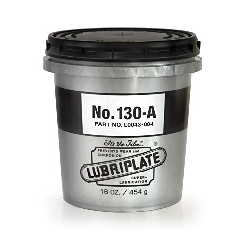 Lubriplate L0043-004 130 Series Beige ISO-9001 Registered Quality System, ISO-21469 Compliant 135 cSt Multi-Purpose Grease (Pack of 12)