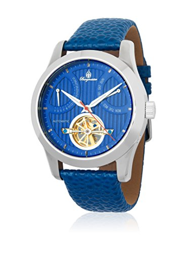 Burgmeister Herren Analog Automatik Uhr mit Leder Armband BM224-133