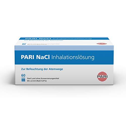 Pari NaCl Inhalationslösung 077G0003, 60 Ampullen