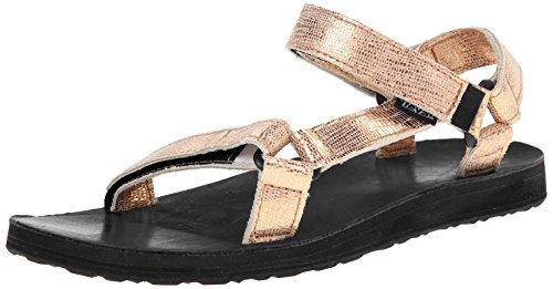 womens teva sandals Teva Women's Original Univ Metallic Sandal