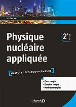 Physique nucléaire appliquée de Frédéric Mayet