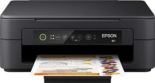 Epson Expression Home XP-2100 Multifunctioneel 3-In-1 Inkjetprinter, Printer, Scanner, Kopieerapparaat, Wifi, Afzonderlijke Patronen, 4 Kleuren, Din A4, Geschikt voor Amazon Dash Replenishment, Zwart