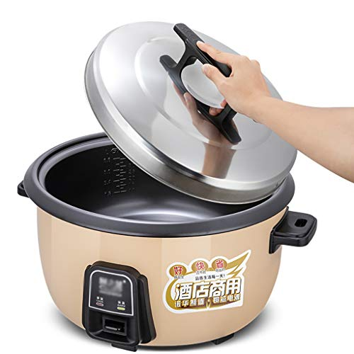 Rice Cooker Large Capacity 8-45L With Steamer Canteen Hotel Commercial Hotel Home Old-fashioned Large Rice Cooker 8-60 People cooker rice (Size : 10L-1600W)