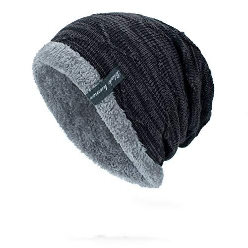 LLmoway Men Women Winter Hat Fleece…