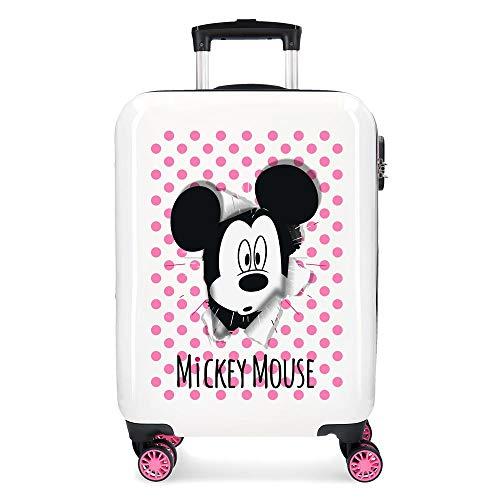 Disney Have a good day Mickey Maleta de cabina Multicolor 37x55x20 cms...