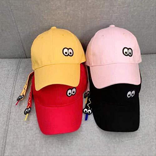 yaheihei Kinderhut Baby Baseball Cap Frühling und Sommer Herbst Jungen und Mädchen Sonnenhut 48-52cm 48-52cm schwarz