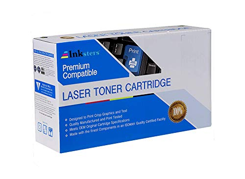 Inksters Compatible Toner Cartridge Replacement for Lexmark 24B6186 - Black