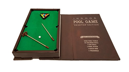 Barwench Games' Executive Mini Desktop Pool Game