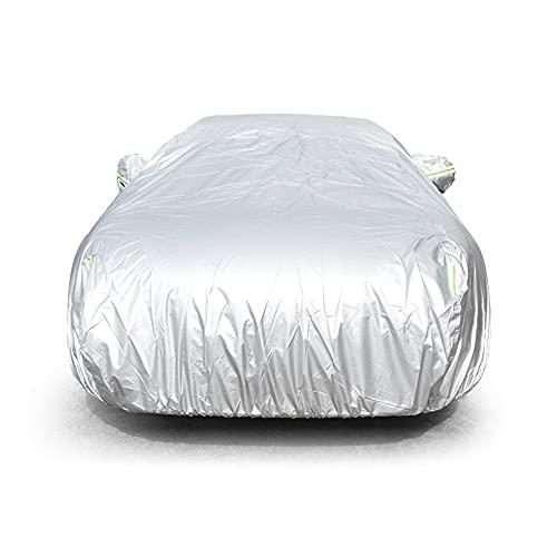 WBBNB Cubierta de Coche Protección al Aire Libre, Cubierta de Nieve al Aire Libre Llena Parasol Cubierta de protección a Prueba de Polvo Universal para la escotilla de Flujo Limusina SUV,XXL