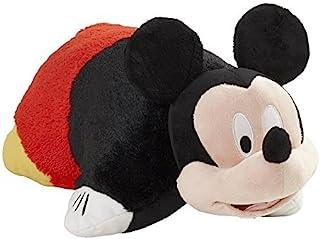 "Pillow Pets Disney Mickey Mouse Stuffed Animal Plush, 16"", Black/Red/Yellow"
