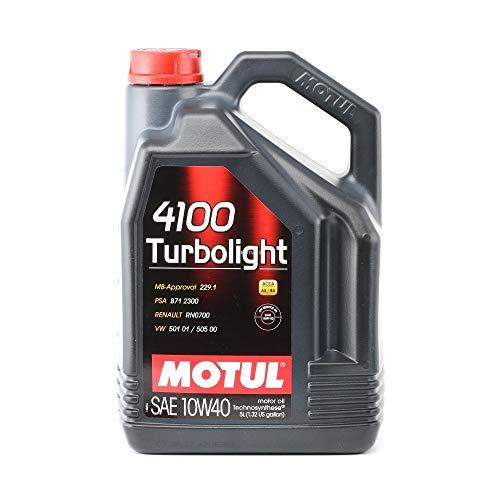 MOTUL 1003574100turbolight 10W-50de 40, 5L