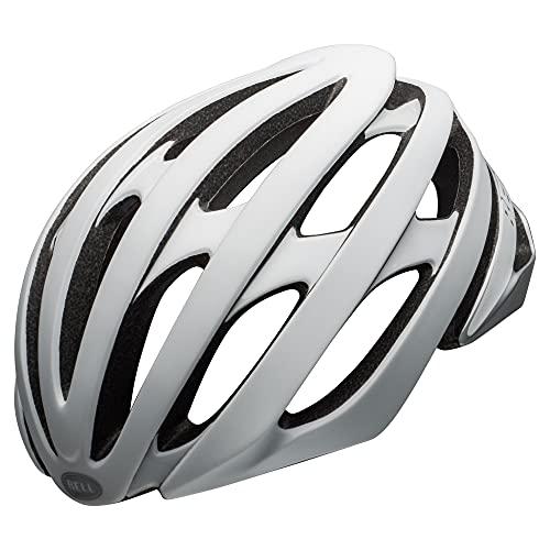 BELL Unisex– Erwachsene Stratus MIPS Fahrradhelm Road, Matte/Gloss White/Silver, M | 55-59cm