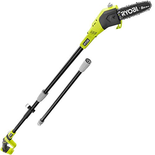 Ryobi One+ 8 in. 18-Volt 9.5 ft. Cordless Electric Pole Saw without Battery and Charger