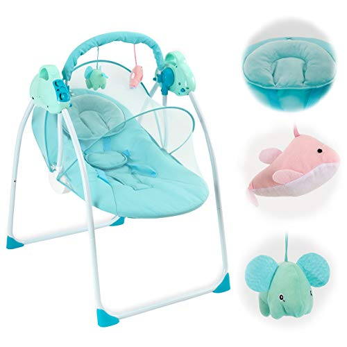 41i3Ie0JiHL 10 Best Portable Baby Swings on the Market 2021 Review