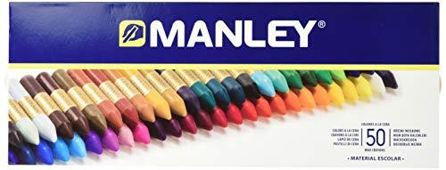 Manley MNC00088 - Ceras, 50 unidades