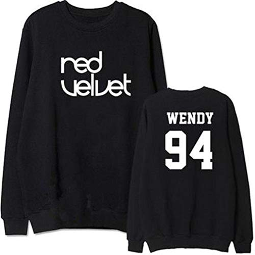 Einson Mainlead KPOP Red Velvet Sweatershirt The Velvet Uniex Hoodie Pullover