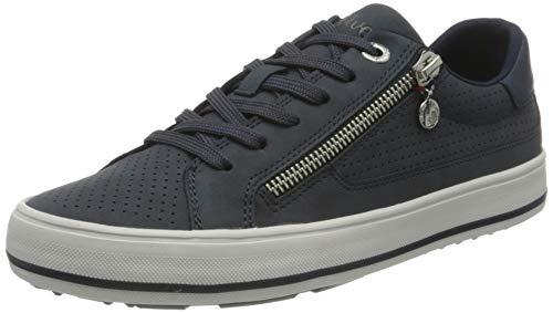 s.Oliver Damen 5-5-23615-26 891 Sneaker, Navy Comb, 38 EU
