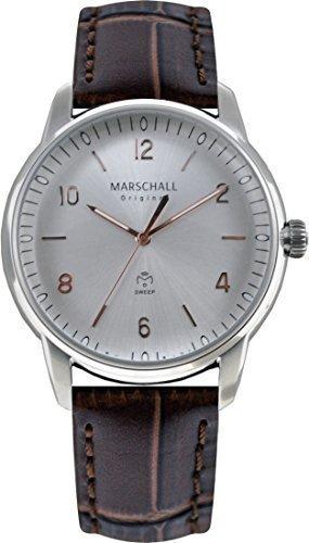 Marschall Original Herren-Armbanduhr Planeo Acero Rose Analog Quarz PN.SN