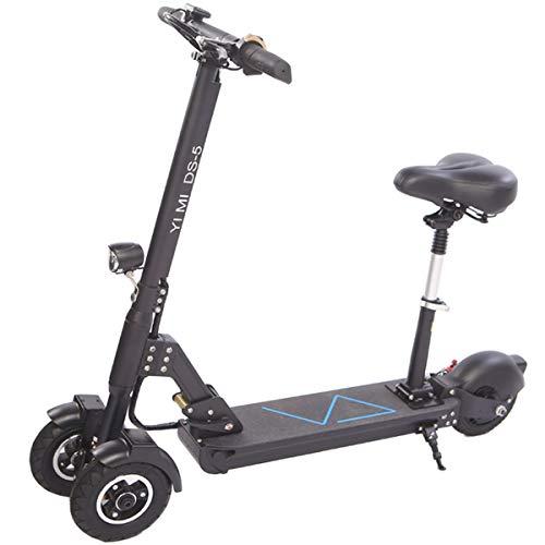 Dapang 3-Rad-T-Bar-E-Scooter, höhenverstellbarer Tretroller, kompakt, leicht und schnell, große...