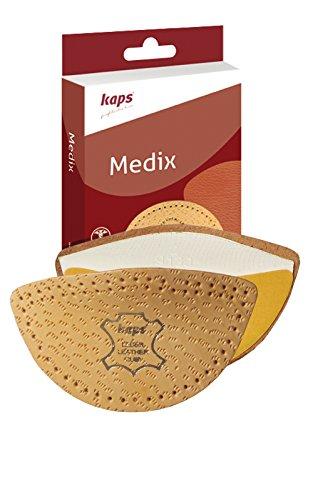 Soporte Longitudinal para el Puente del Pie Hombre Mujer - Plantillas para Zapatos de Medix Hechas con Piel de Oveja para la Almohadilla de Soporte del Puente y Alivio del Dolor (35-37 EUR)