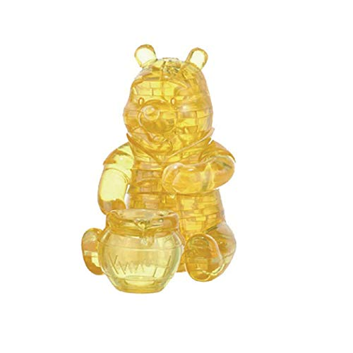 Bepuzzled 3-D Licensed Crystal Puzzle-Winnie The Pooh
