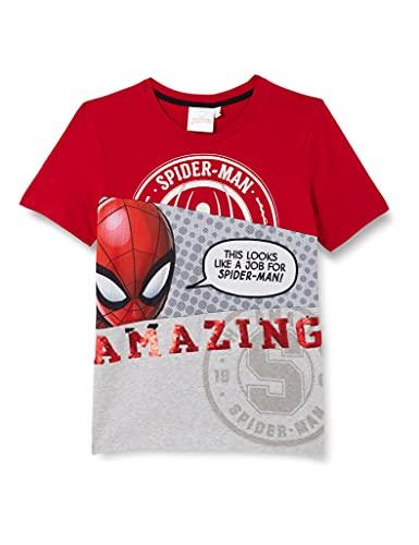 Desigual Boys TS_Spider T-Shirt, Red, 9/10