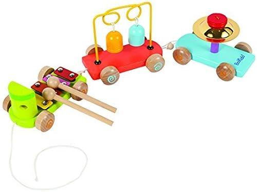sorteos de estadio Boikido Wooden Wooden Wooden Musical Train by Boikido  barato y de alta calidad