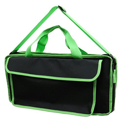 KC キョーリツ 鍵盤ハーモニカバッグ 2Wayタイプソフトケース KHB-10/Neon Green (ショルダーストラップ付属)
