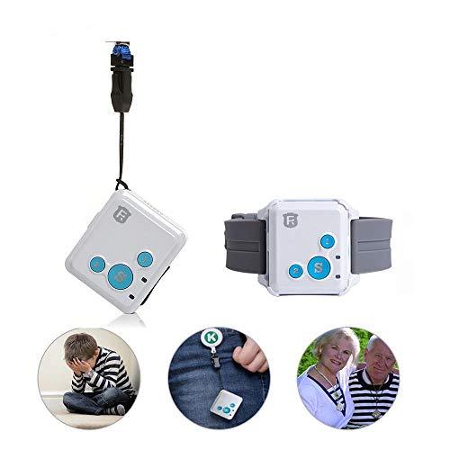 New Mini GPS Tracker Kids Personal Child GPS Locator RF-V16 7 Days Standby SOS Voice Monitor Free...